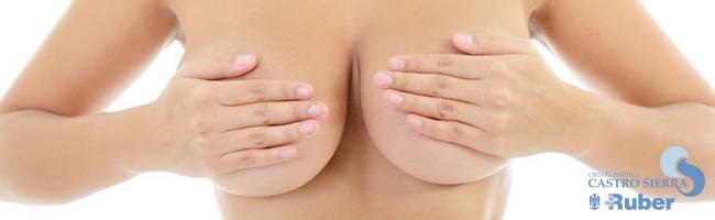 Fotos antes y después aumentar senos operados