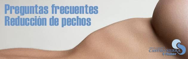 Reducción de pechos en Madrid. Clínica Ruber. Estética Castro Sierra