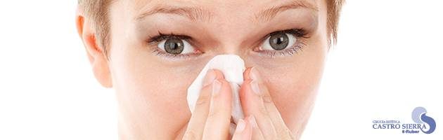 Rinoplastia y la alergia en primavera.