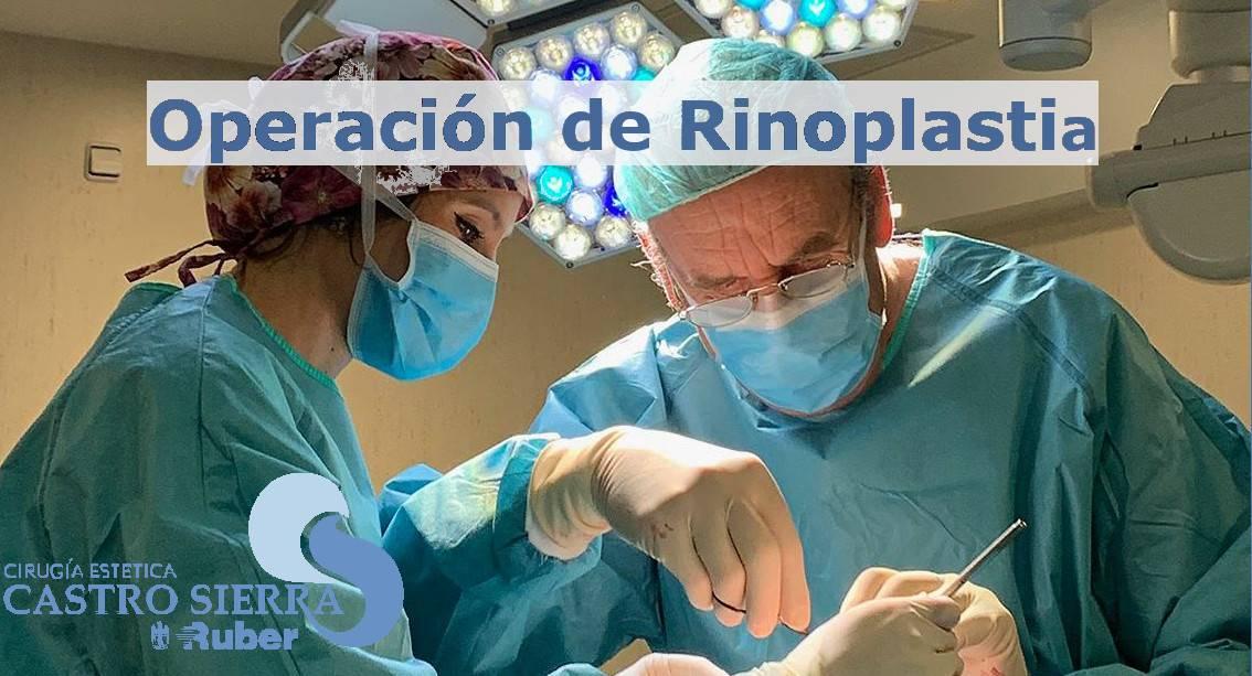 OPERACIÓN de Rinoplastia